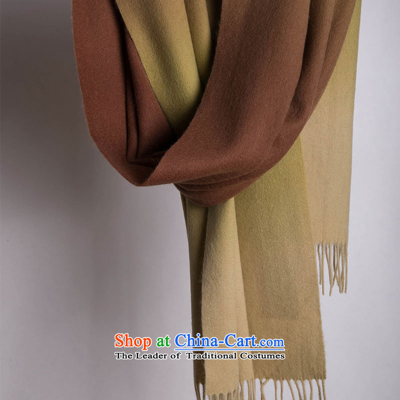 The wool-wook of infected women scarves Sleek and versatile, coffee/card its