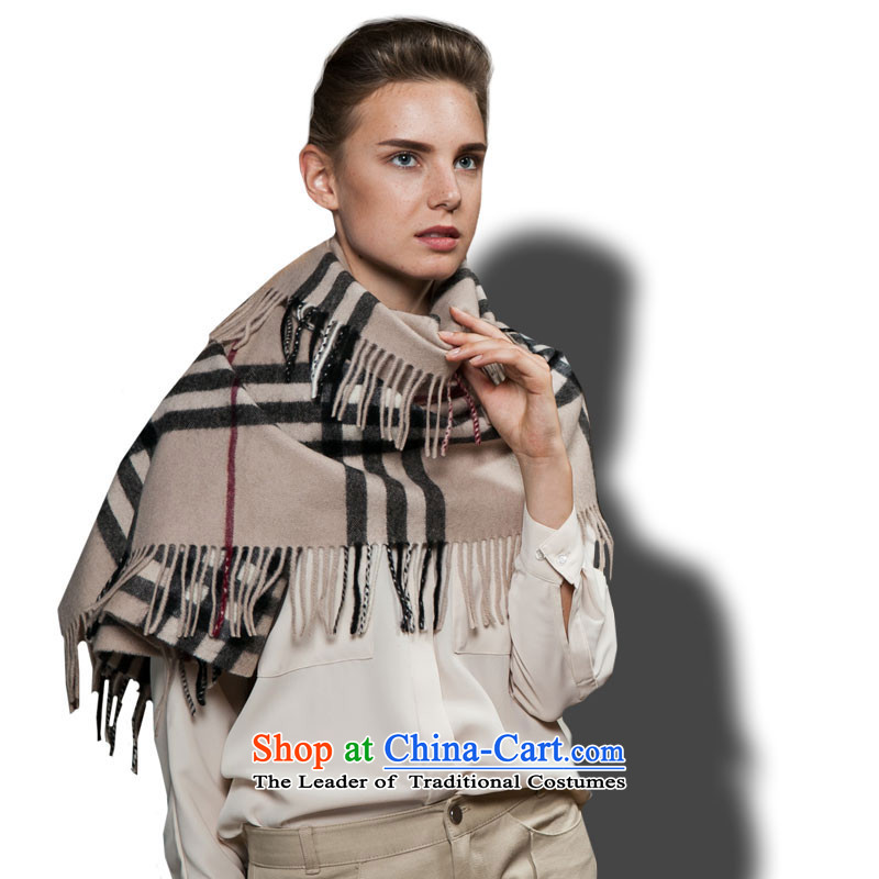 The wool-wook-thick shawl autumn and winter warm thick) and Grid