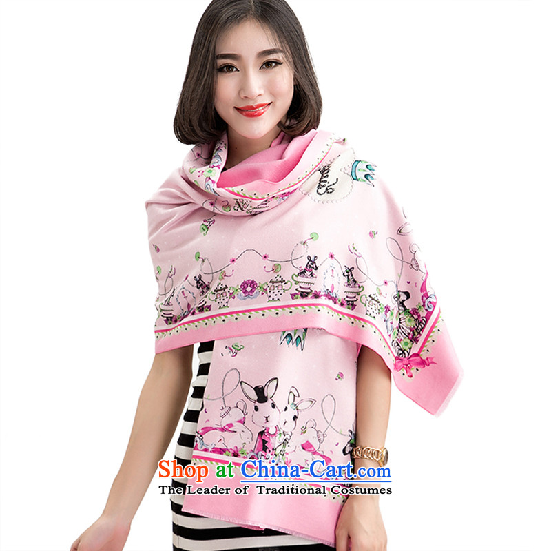 The Cloud leaf warm pashmina shawl two small zebra kid pattern multi-color optional warm Fancy Scarf two the sweet and toner