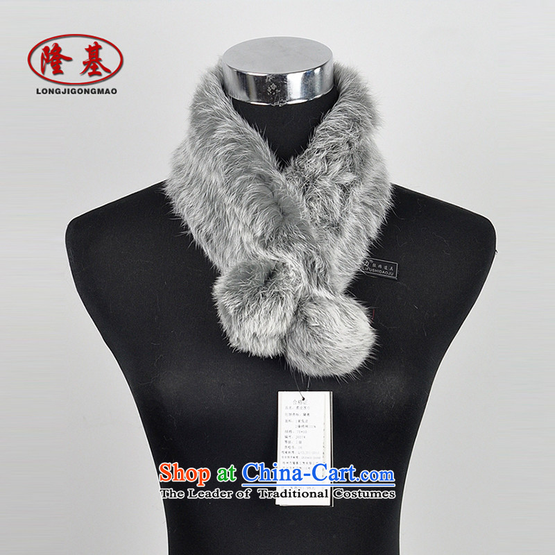 Takamoto rabbit hair scarves, warm winter fur a rabbit hair lovely big balls a light gray