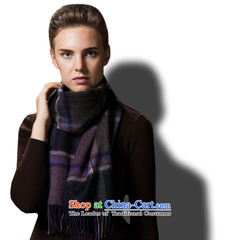 The wool-wook-blended water marks the end of the scarf Sleek and versatile, Transactions
