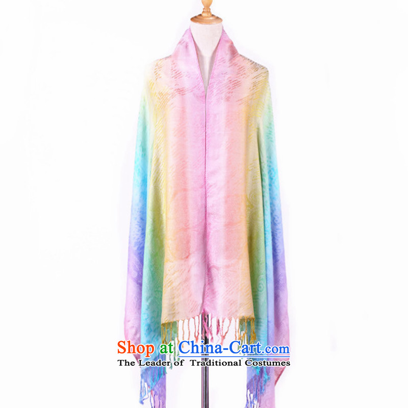 Sleek and versatile Ms. TAOYEE Seven Colored Leopard scarf warm-ups shawl Korean comfort women scarves ultra-soft pink