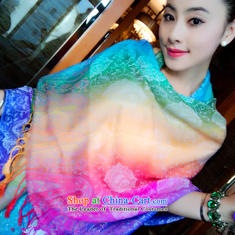 New stylish TAOYEE Fancy Scarf to Seven Colored ethnic scarf stylish wild fancy scarf Two Color 6