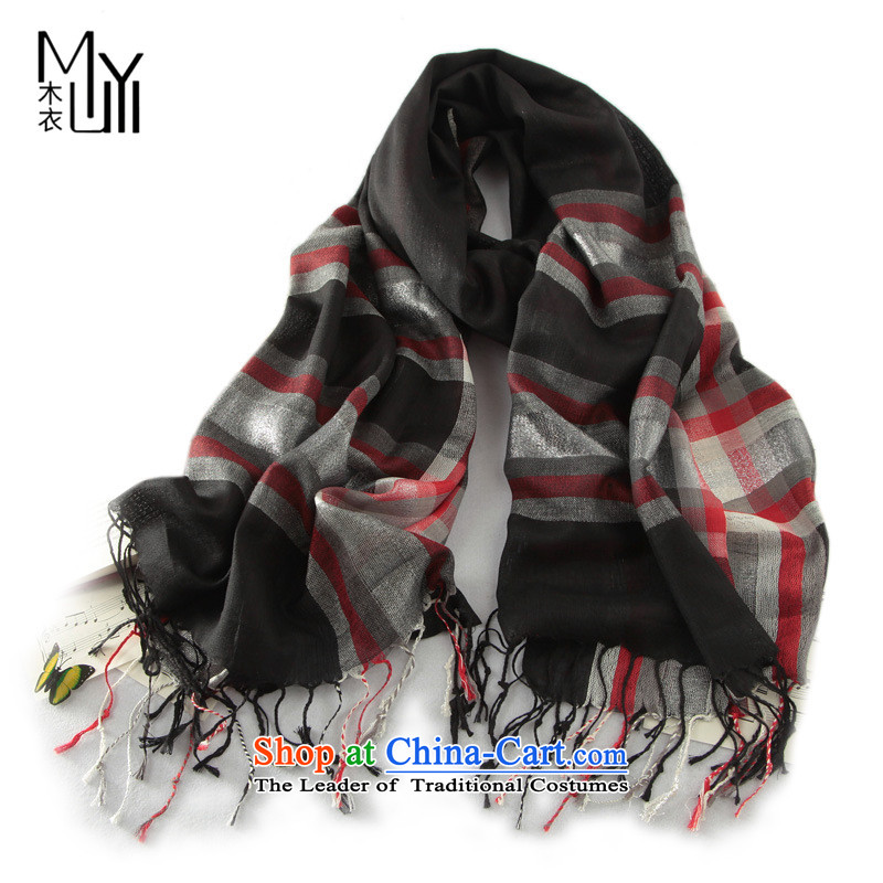 : The new western style Yi ribbed edging long women cape scarfYnn-w4002180cm*70cm black and red