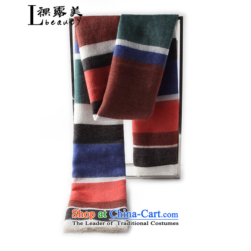 The United States and in spring and autumn 2015 winter naked women and two to ultra-long spell of warm colors handkerchief History Picture Color 1
