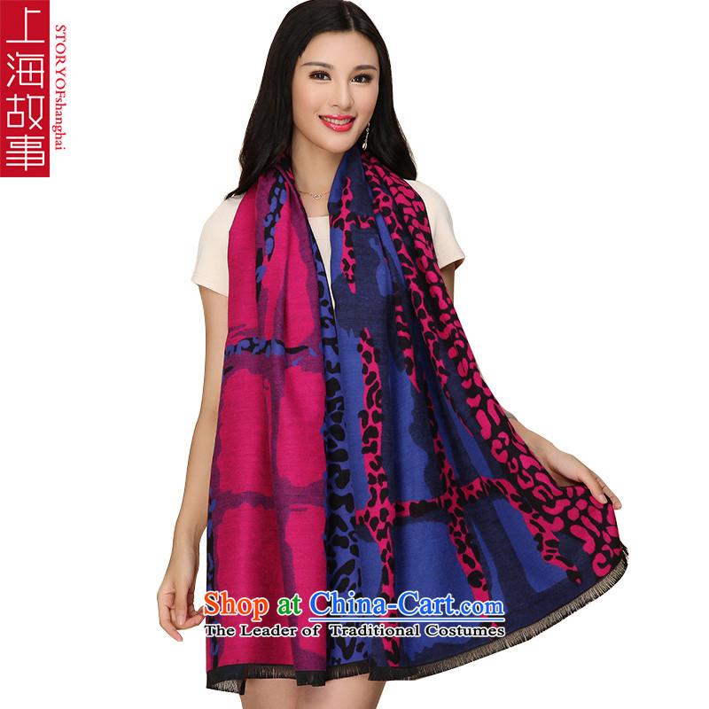 Shanghai Story thick brushed scarf female warm winter shawl Scarf1#