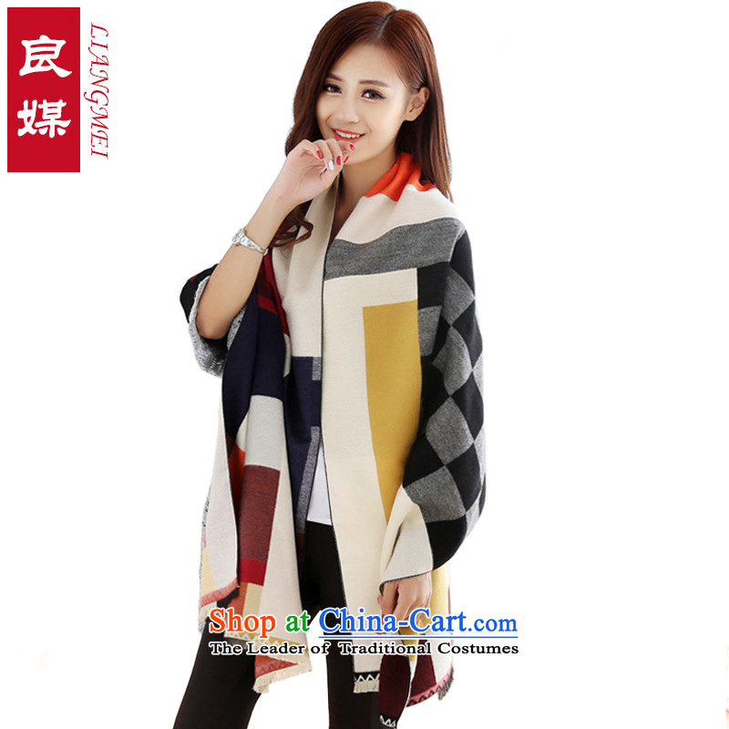 Good media pashmina female autumn and winter Korean modern warm-ups shawl