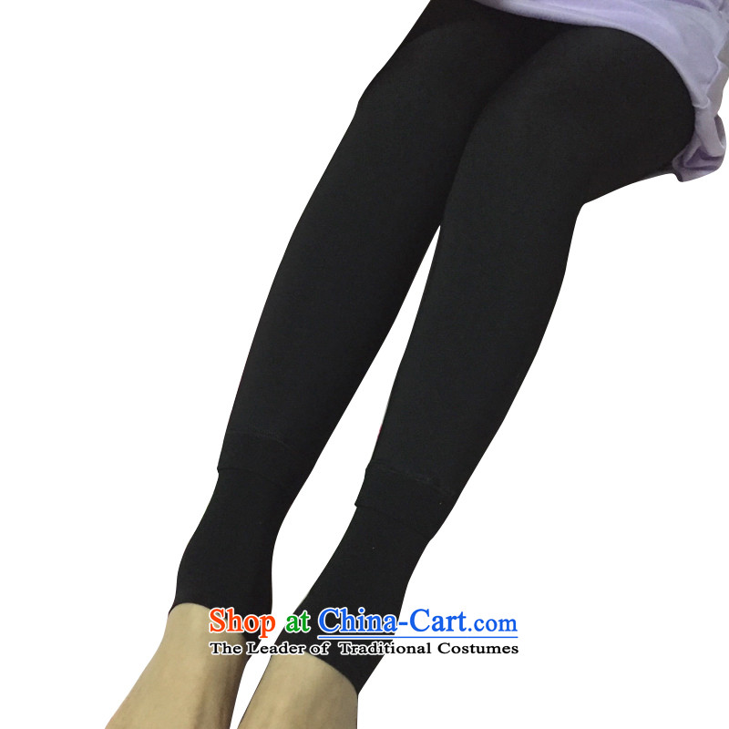 Legs socks autumn and winter thick plus hip video thin-shape, forming the trousers socks and stockings thin