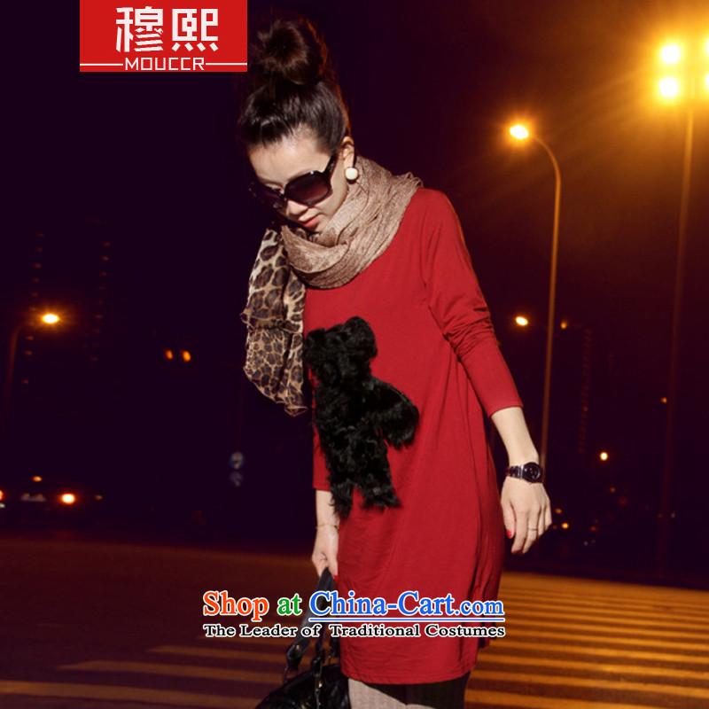 Mok-hee聽2015 Fall_Winter Collections new Korean stylish and elegant warm female long silk scarf western sweet Leopard Fancy Scarf聽3366聽Leopard document edge