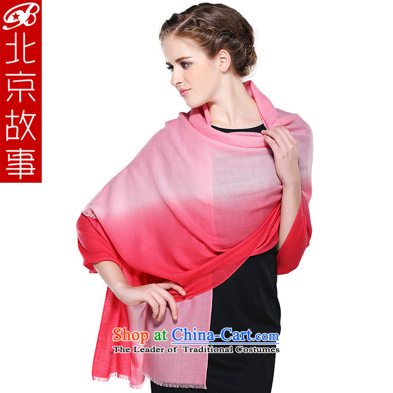 Beijing 70 support 100_ Winter Story o wool gradient scarf warm longer thick woolen shawl