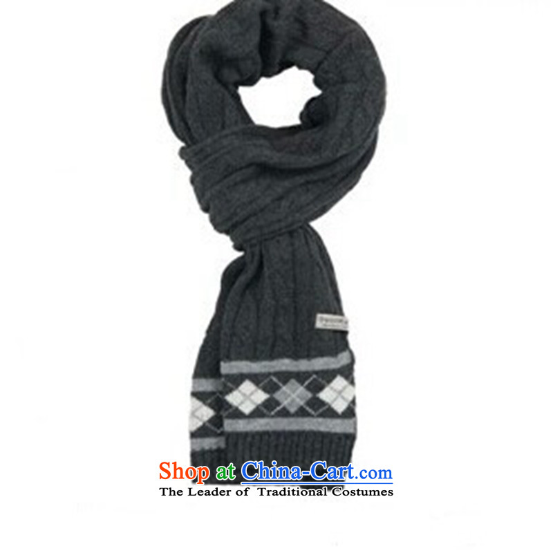 The autumn and winter new ultra long Korean female thick lines in the history 8 scurf field twist wild long Knitting scarves Gray