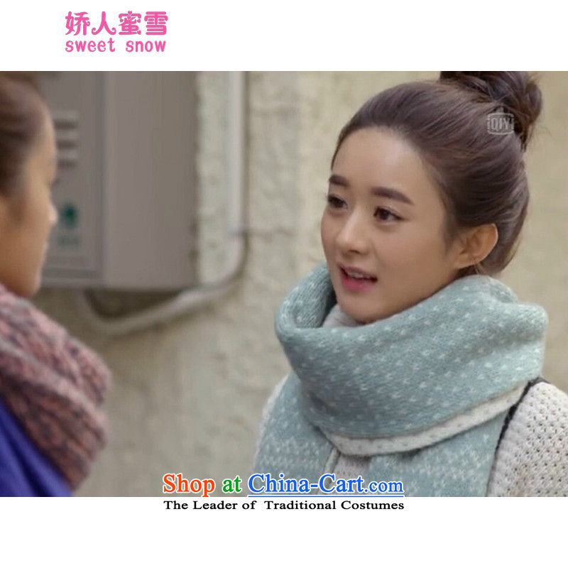 Use of snow fall/winter honey new shanshan to a snowflake Sorok thick with Chiu Lai Ying Scarf Christmas Gift