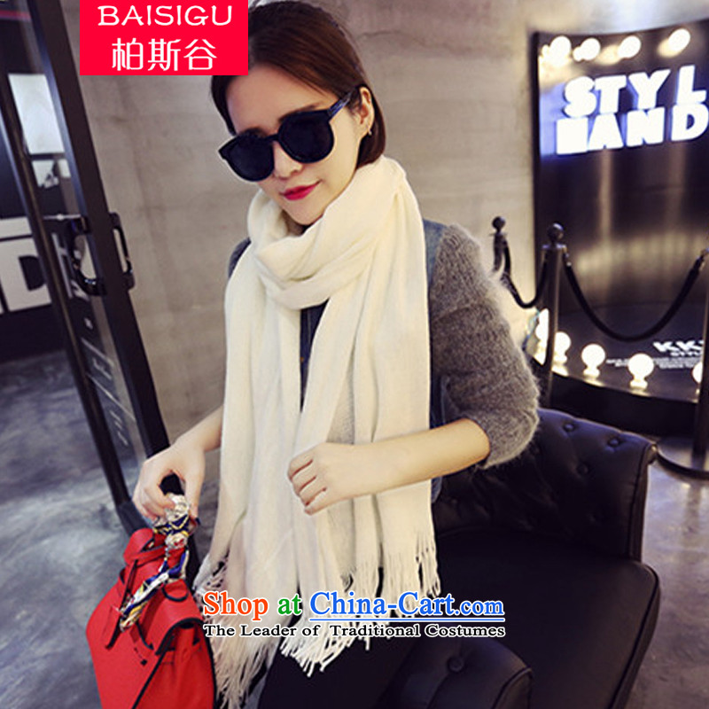 The Perthautumn 2015 Winter Valley emulation cashmere Thick edging scarves knitted cardigans couples a two of the student with a long white