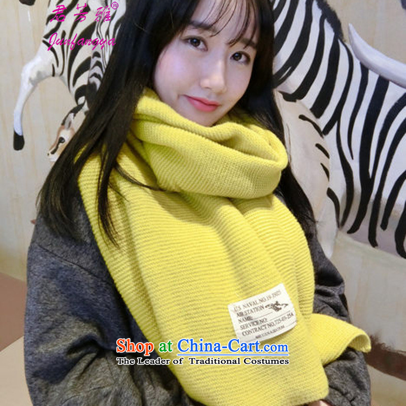 2c888778504d4 Kwan Fong Nga autumn and winter new Korean Thick Long Female Sleek and  versatile Knitting scarves shawl bourdeaux