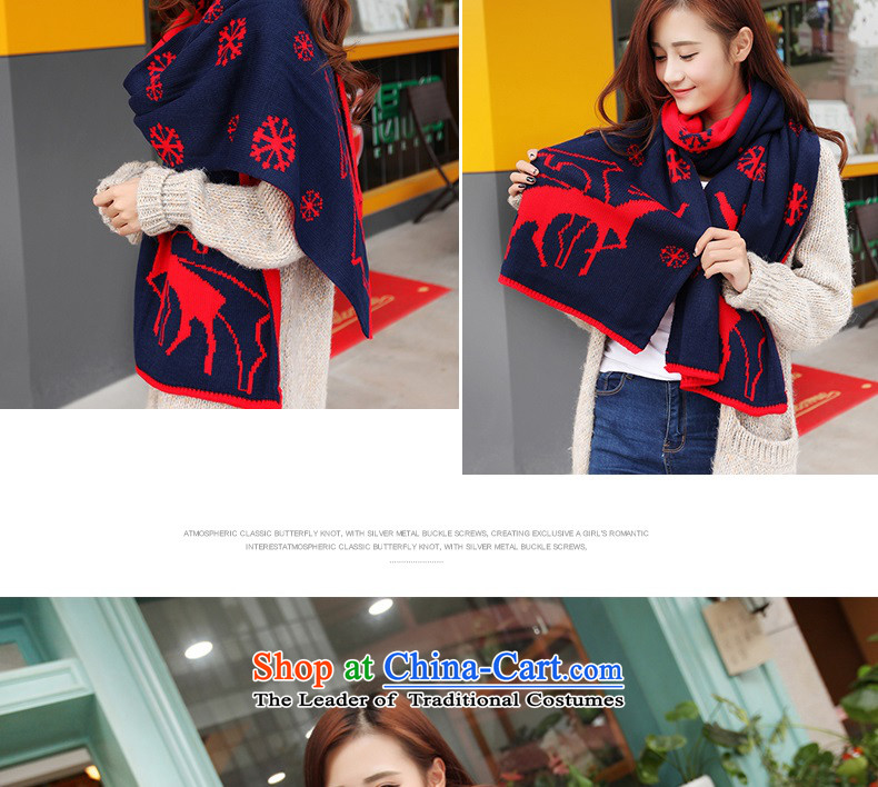 The Korean version of the scarf female students in Korea during the spring and autumn thickened winter couples a female Winter Sweater Knit wild long at Deer - Black pictures, prices, brand platters! The elections are supplied in the national character of distribution, so action, buy now enjoy more preferential! As soon as possible.