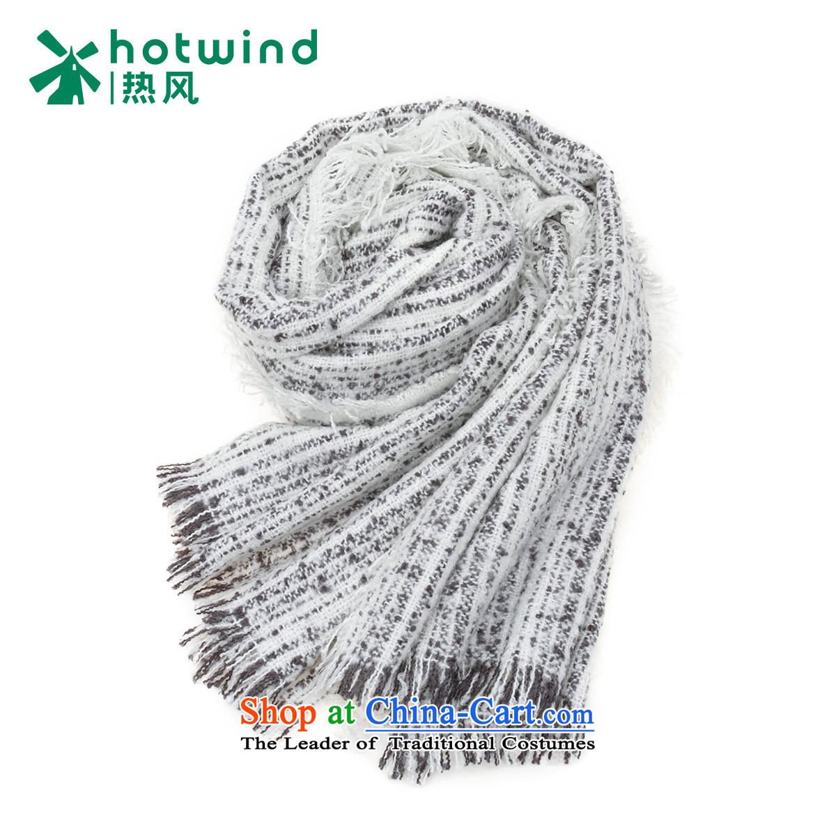 Hot Air Tool 2015 women D simple pull woolen cravat P060W5403 04 White