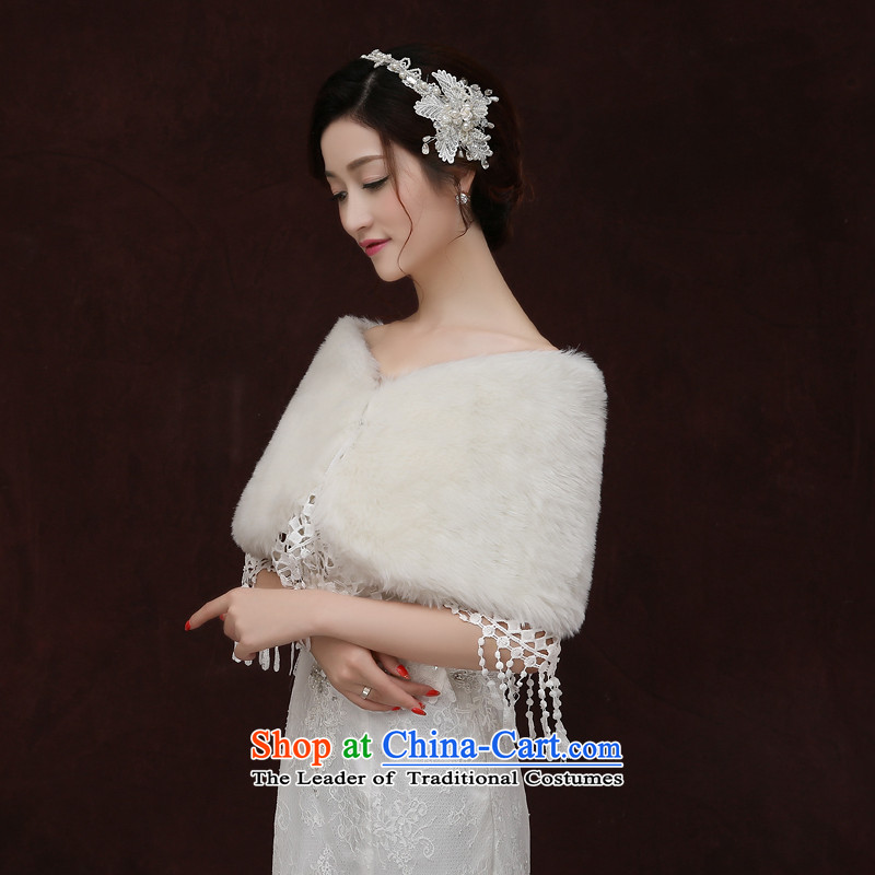 Yong-yeon and 2015 new bride gross shawl married women wedding dresses shawl winter, shawl thick white winter, Yong-yeon and shopping on the Internet has been pressed.