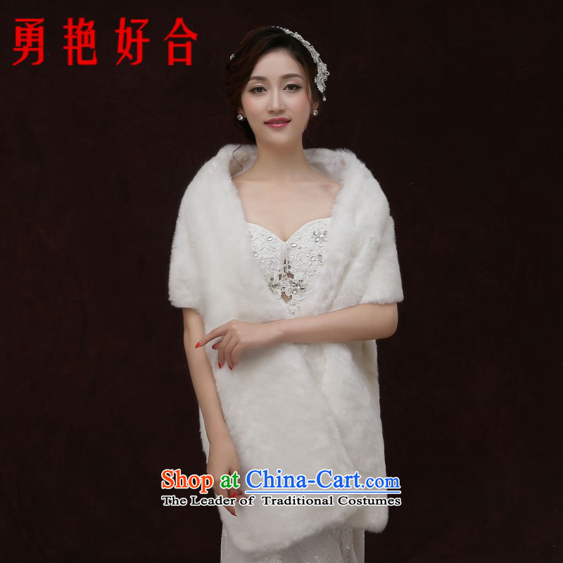 Yong-yeon and marriages gross shawl extension thick wedding shawl white wedding warm winter white winter
