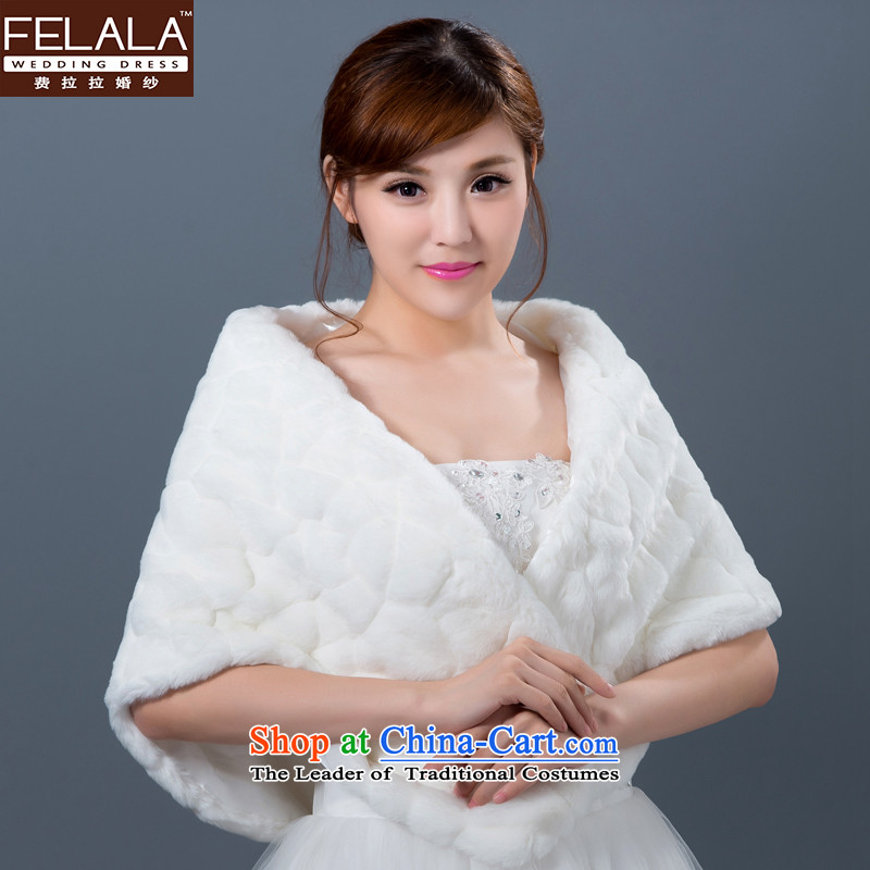 Ferrara marriages winter wedding dresses gross bridesmaid shawl shawl jacket thick warm winter Cloak
