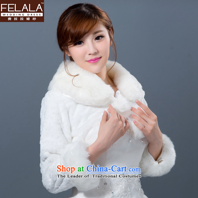 Ferrara new wedding dresses shawl winter marriages shawl bridesmaid gross shawl thick Warm White
