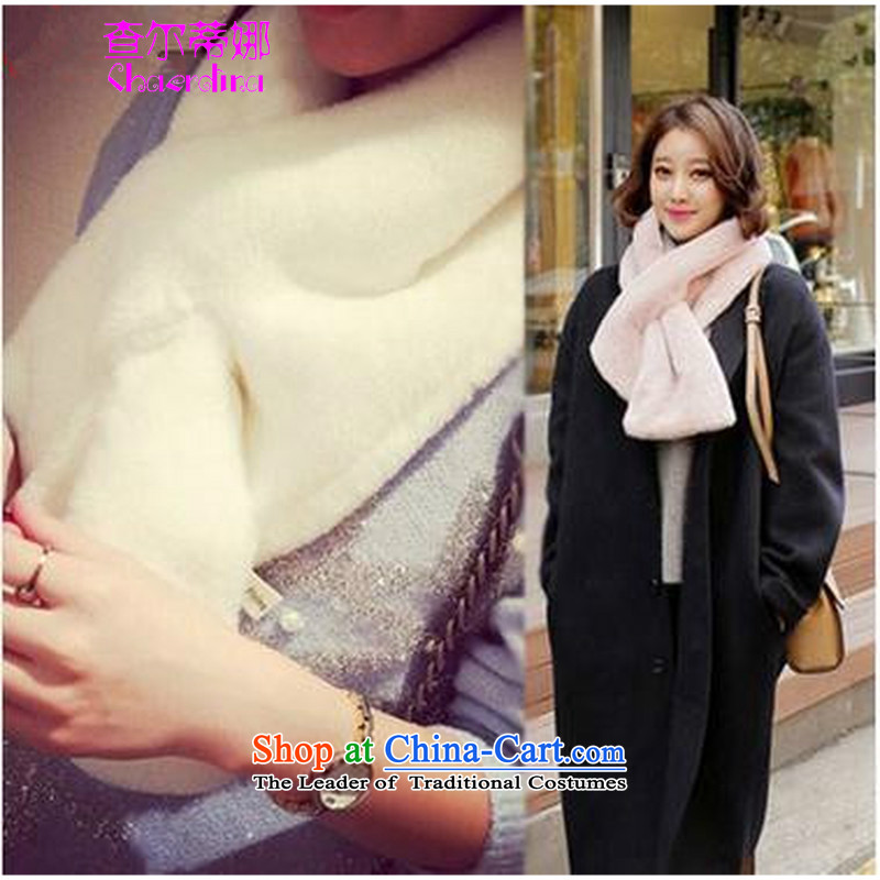 To Tina Korea feels good lovely thick solid color Maomao small handkerchief also black
