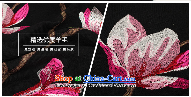 Hengyuan Cheung ethnic suzhou embroidery wooler scarf thick autumn and winter, two large shawl embroidered a warm black E17-1 185*65 picture, prices, brand platters! The elections are supplied in the national character of distribution, so action, buy now enjoy more preferential! As soon as possible.