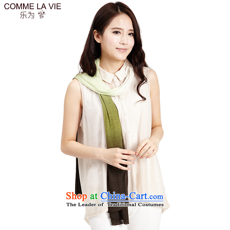 As President at the autumn and winter : Scarf air-conditioning shawl silk scarfL11FC106Emerald