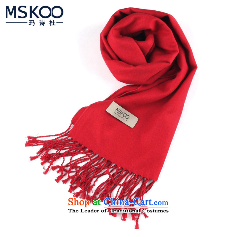 Princess (MSKOO poem) herbs extract scarf Ms. men married to a brushed duplex wedding gifts gift to whom the cartridge MS-5075 red