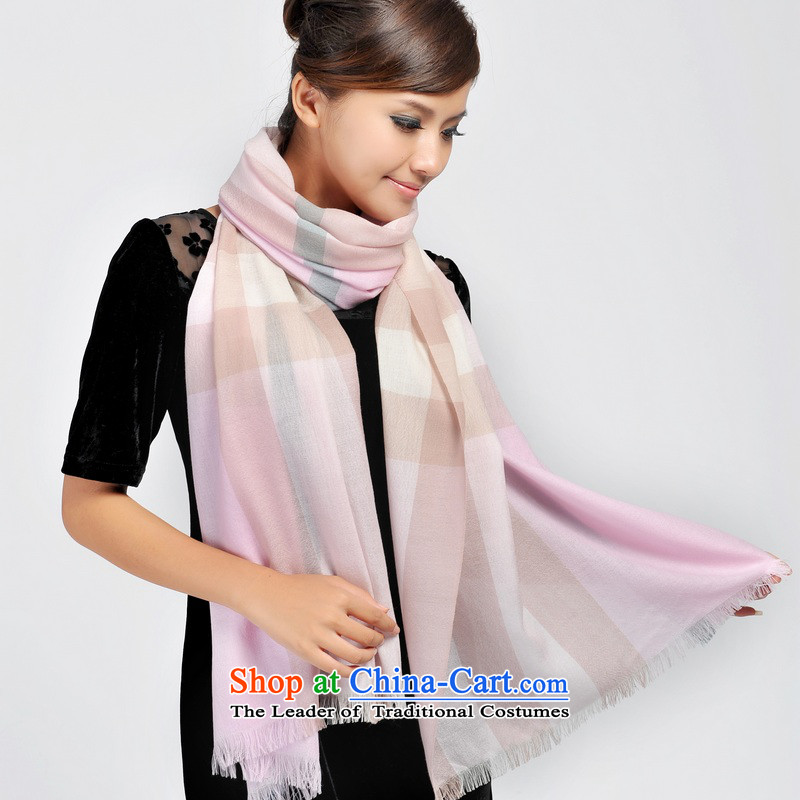 Shanghai Story autumn and winter female couple) of Cashmere scarf 148108 warm pink