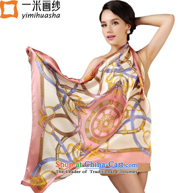 One meter animation yarn silk scarf gift and classy and stylish classic towel scarf silk scarves GirlNo. 1 Color