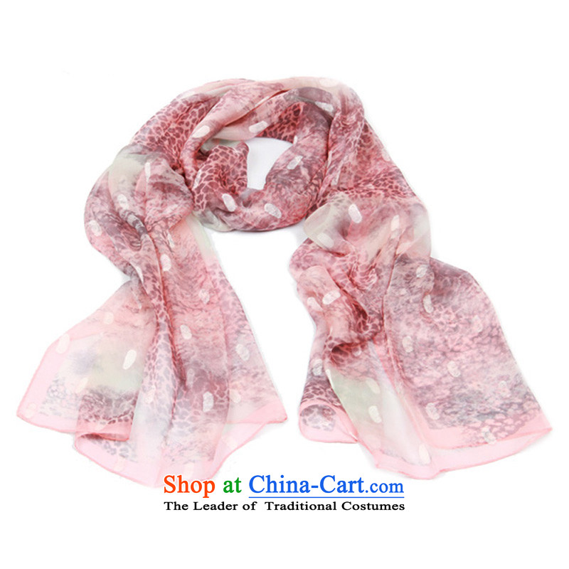 Close US$Cards low long silk scarf trend patterns Y-064 gray powder