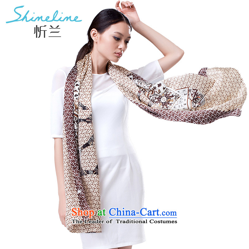 The Central LAN scarf air-conditioned room silk scarves Ms. herbs extract large long towel silk scarves Jockey Club and color