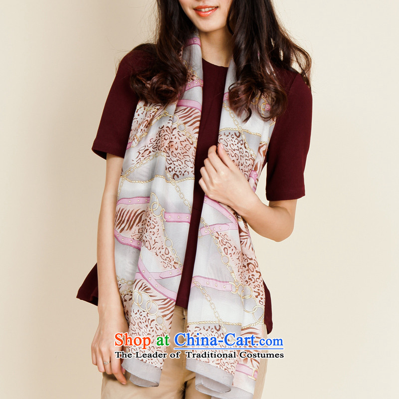 As Ms. silk scarfs summer herbs extract leopard silk scarf L13FC103 pink are code