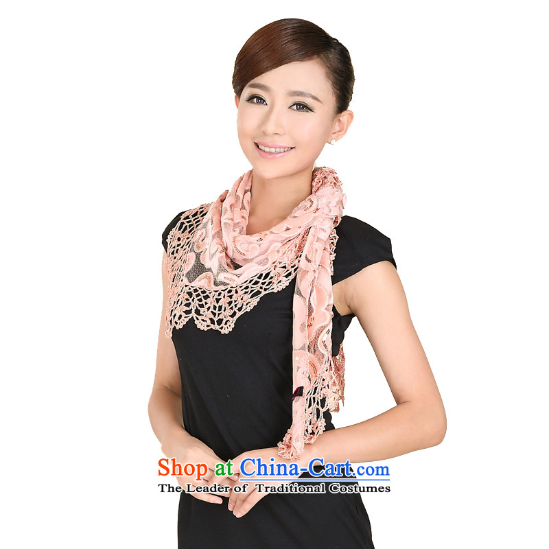 Shanghai Story new Korean Dream Palace style scarf on chip family Fancy Scarf 158061 Pink