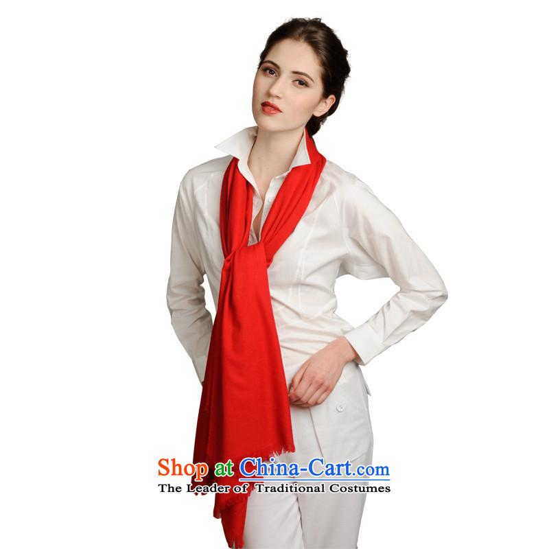 Latin bazaar monochrome warm /pashmina shawl pure colors and stylish scarf gift long towel China wind wild scarf AL0122-1303 Red 001