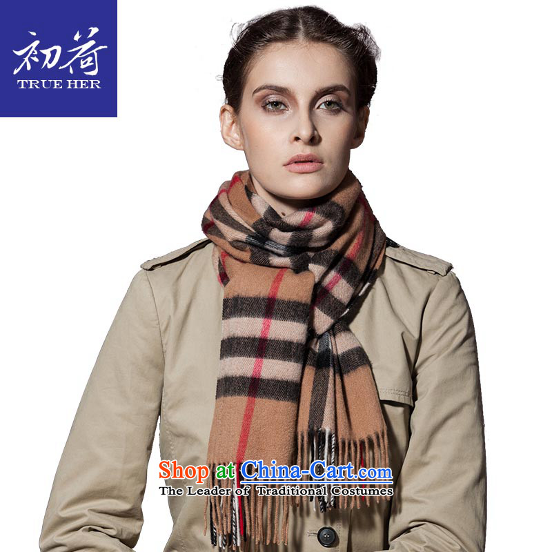 I should be grateful if you would arrange early pashmina girl of autumn and winter wool a mature, Thick Long England scarf ceremony latticed boxed genuine and grid