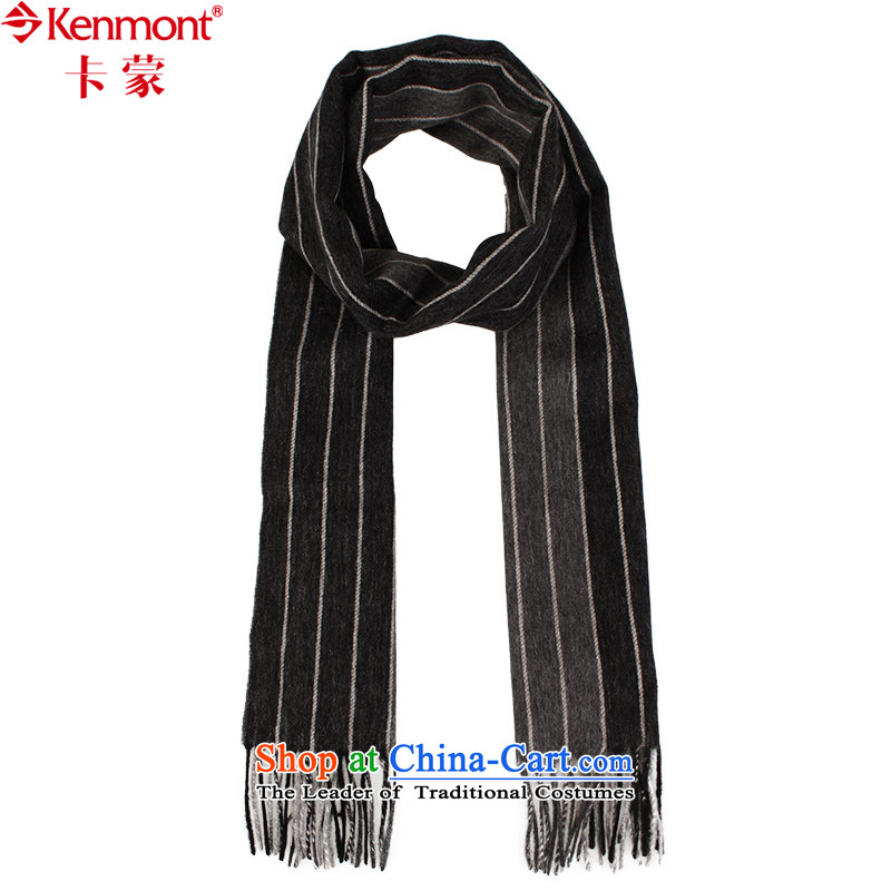(men's woolen scarves kenmont) warm winter dark streaks of Commerce also handkerchief 1951 Gray