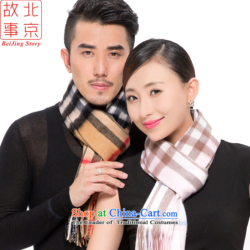 Beijing2015 new segments of the story of the Cashmere wool scarf men and women style of a warm winter shawl177070a pink