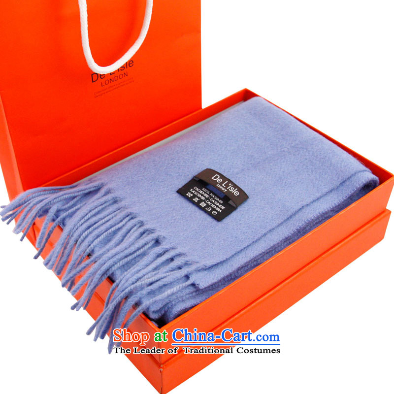 De Lisle100% pure Cashmere scarf Male Female couples) BoxsetSD82