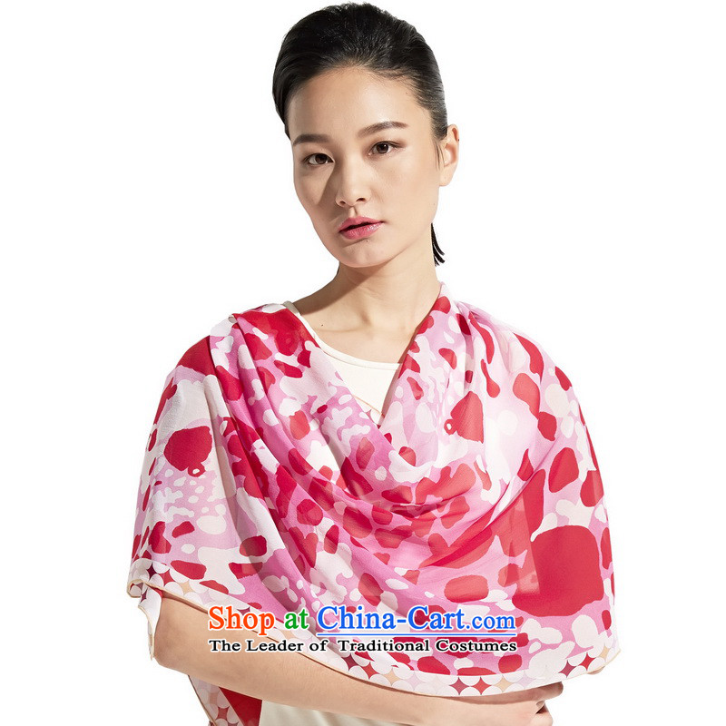 Gems butterfly silk scarf Ms. Long 2014 new Indian atmosphere wave point herbs extract silk scarf/sweet goddess classic color