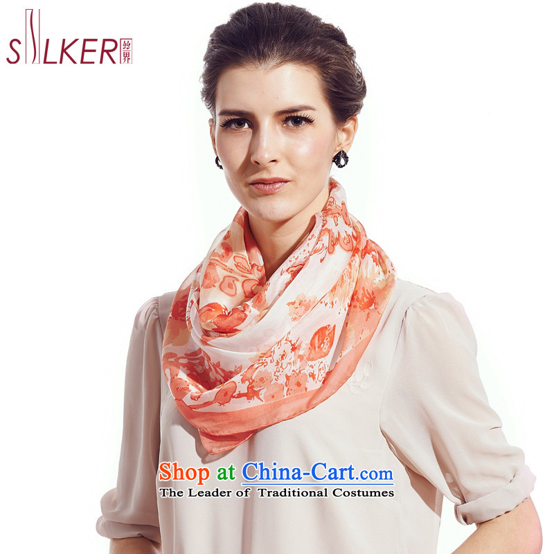 The population sector Ms. SIGI silk scarves extra large size of the scarf gift shawl polyphonic Miu attorney snow Bluetooth