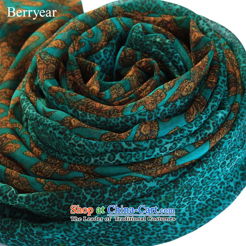 Genuine berryear upscale sauna silk scarves spring and autumn long silk scarfs female scarf silk scarf shawl200*130CM