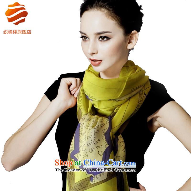 Tapestries floor autumn and winter herbs extract long silk scarf women silk scarfs shawl large long towel California Sunshine