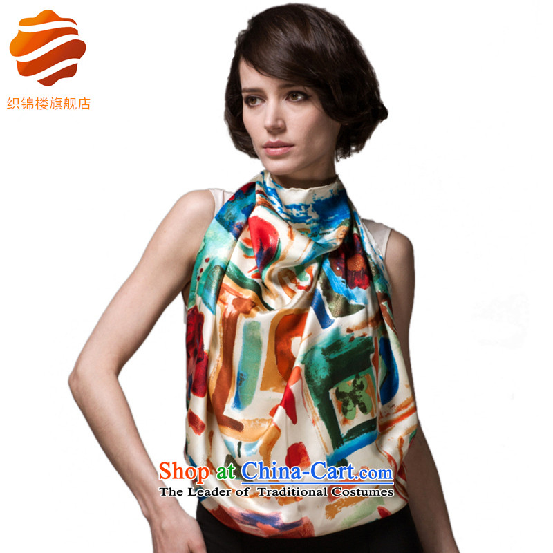 Tapestries and herbs extract floor towel silk scarf women stamp silk scarfs picturesque Akaroa
