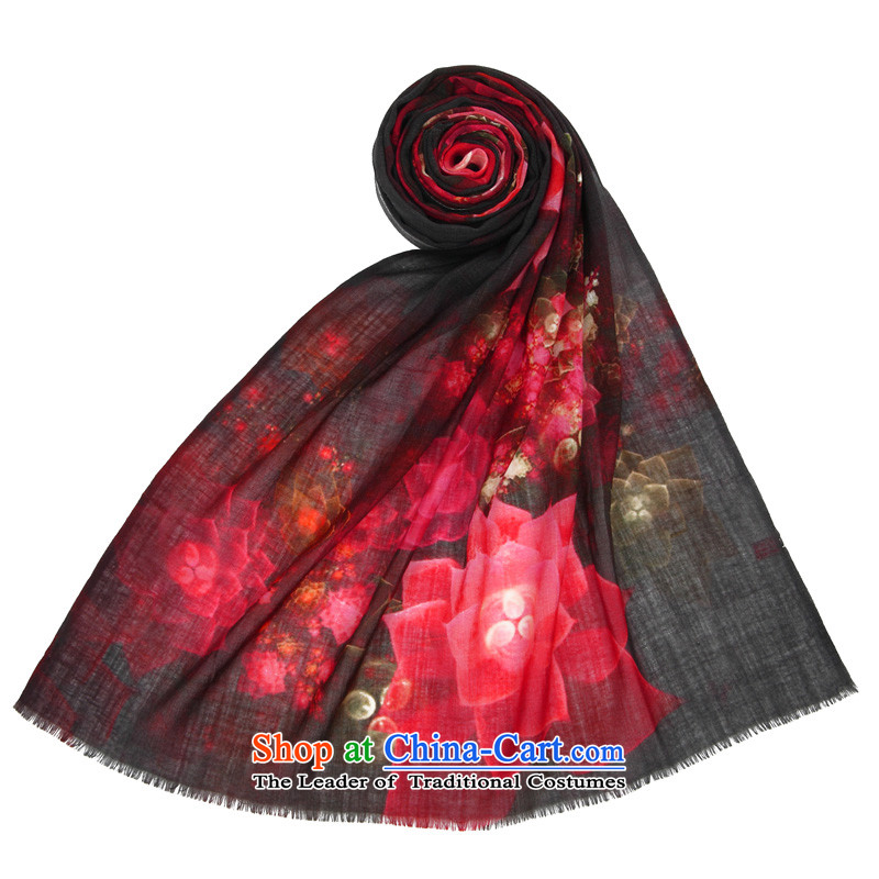 Gift box population sector _SIGI_2014 New Year gift counters the fleece scarf upscale gifts shawl Egypt after Yim Wine red