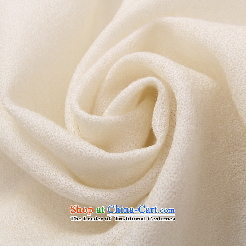 Shanghai Story wooler scarf women cape autumn and winter long m White