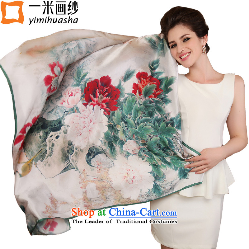 One meter animation yarn silk scarves 2015 new spring herbs extract scarves, 7# color