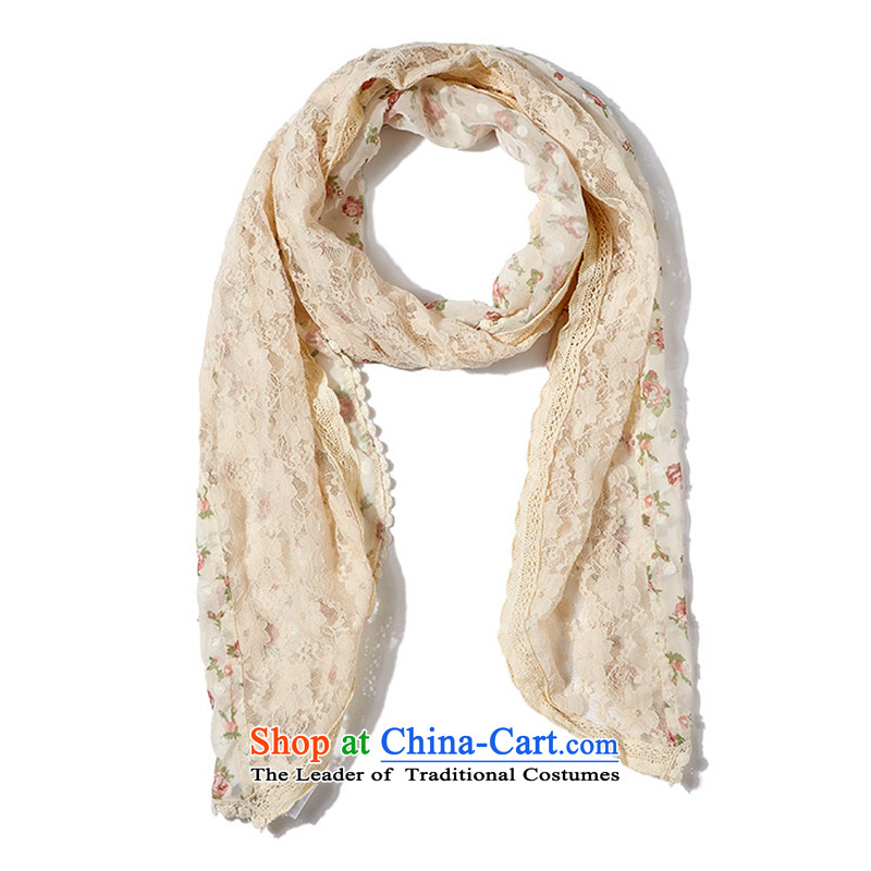 The United States and the state of the girl saika spelling Wei lace scarf 276977 white group