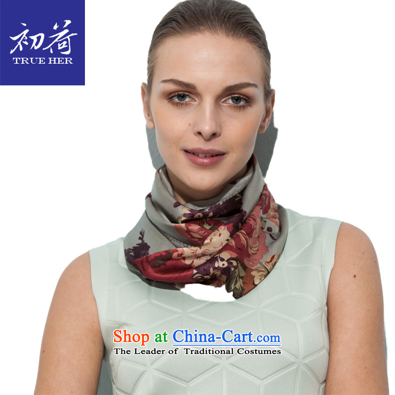 I should be grateful if you would arrange early Ms. silk scarf silk shawls sunscreen a gift of the scarf herbs extract small long towel Light Gray