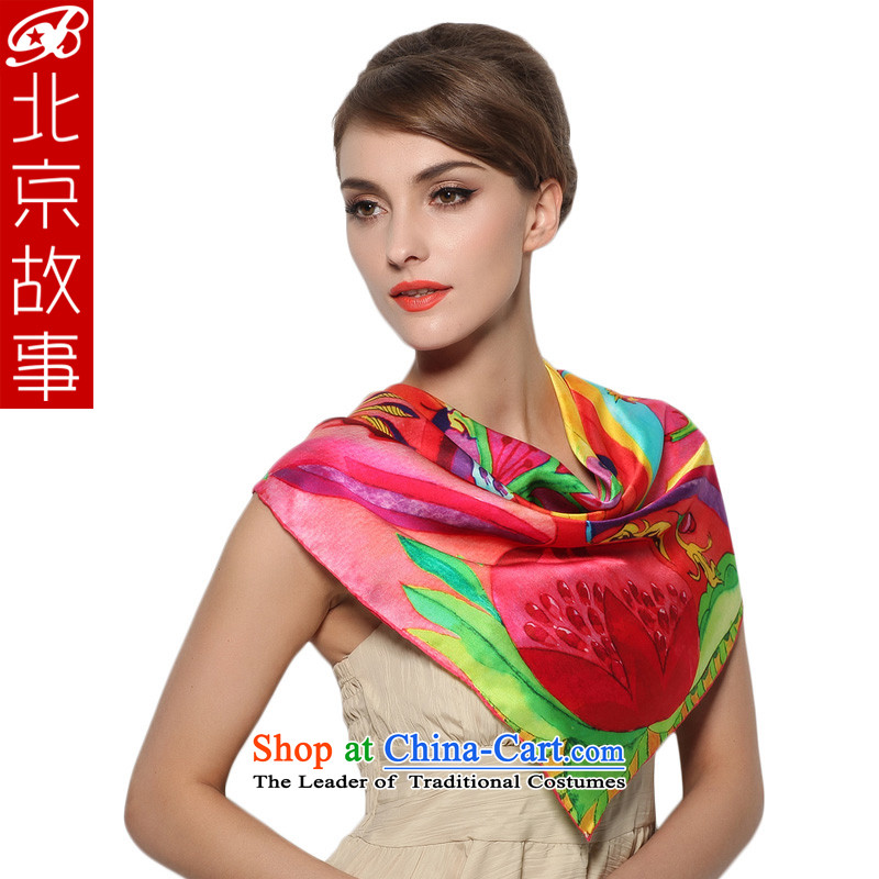 Beijing Spring and Autumn Tale shawl, sauna silk scarves silk scarf red towel and classy gift